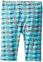 Zutano Baby-Boys Newborn Vroom Pant, Pool, 24 Months