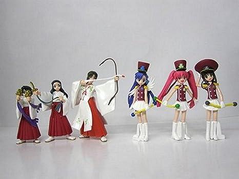 Rikuyo HGIF Gashapon Figure Set of 6