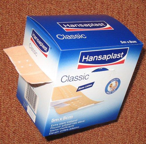 Hansaplast Classic 5m x 6cm, 1 St