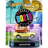 "65 MUSTANG ""BEVERLY HILLS 90210"" Hot Wheels 2014 Retro Series 1/64 Die Cast Vehicle"