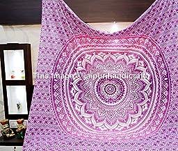 Hippie Tapestries, Mandala Tapestries, Wall Hanging, Tapestry Wall Hanging, Bohemian Tapestries, Indian Tapestry, Hippie Hippy Tapestries By Rajrang