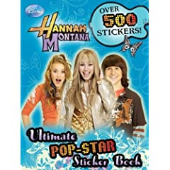 Hannah Montana Ultimate Pop-Star Sticker Book (Hannah Montana)