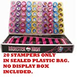 Monster High Stampers Party Favors (20 Stampers)