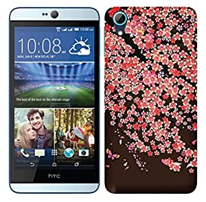 TrilMil Printed Designer Mobile Case Back Cover For HTC Desire 826