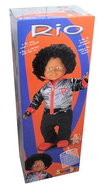 bébé marcheur RIO (s'habille avec de vrai vêtements de bébé) 63cm