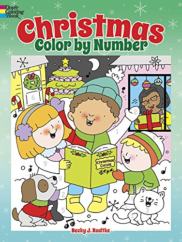 Christmas Color by Number (Dover Children's Activity Books) (Coloring By Numbers For Kids compare prices)