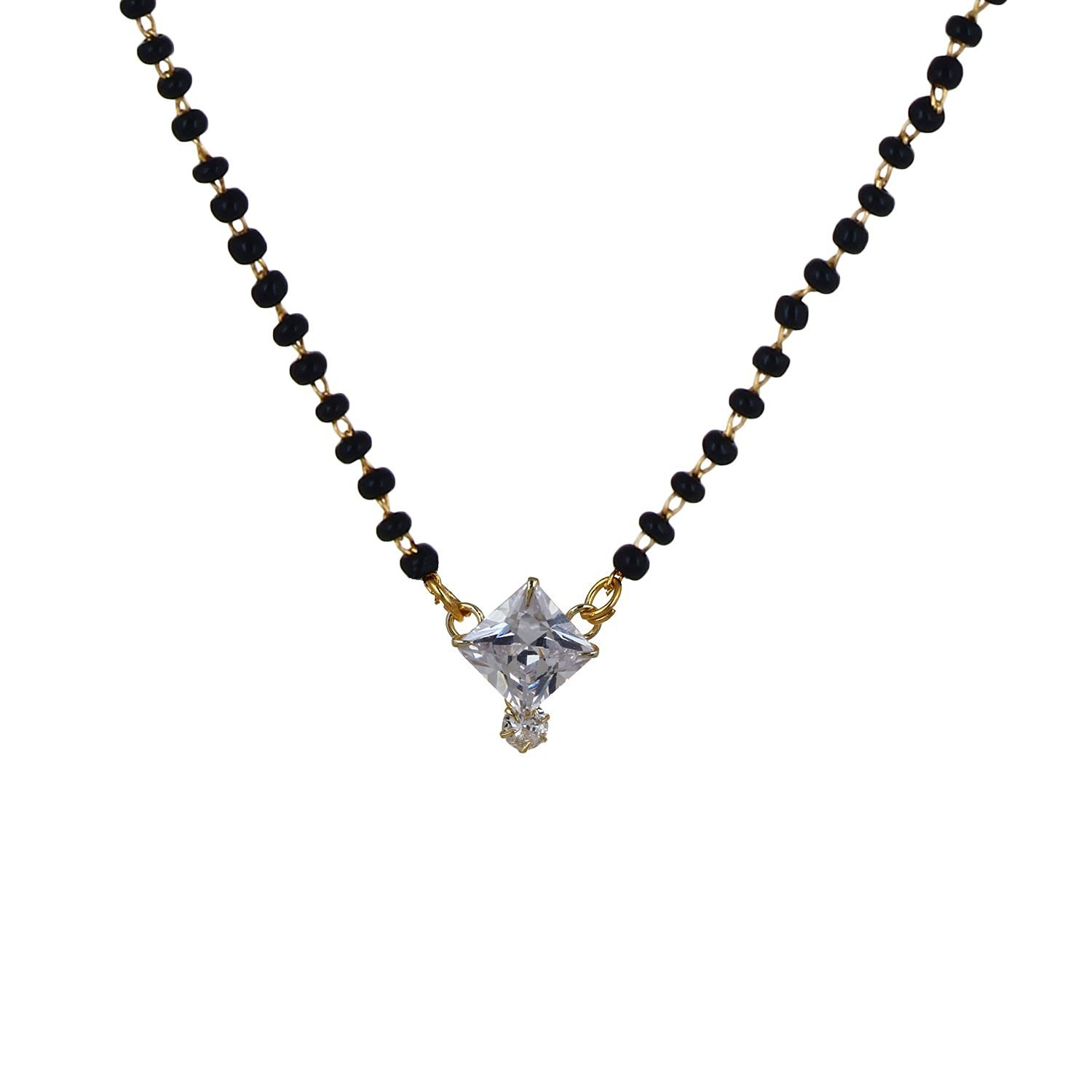 American Diamond Mangalsutra Jewellery For Women