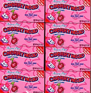 Ferrara Pan Cherryheads 24 x 0.9 oz packages