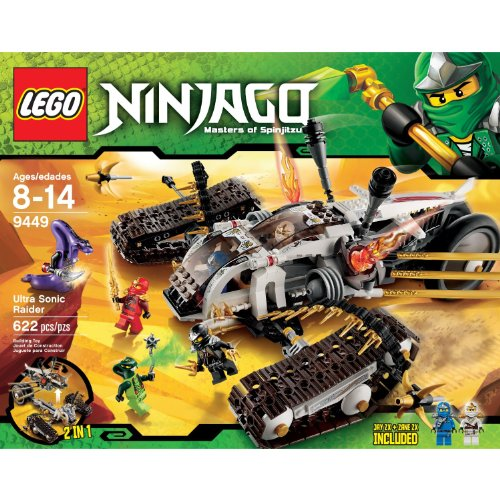LEGO Ninjago Ultra Sonic Raider Set 9449 (Manufacturer recommended age: 6 - 14 years)