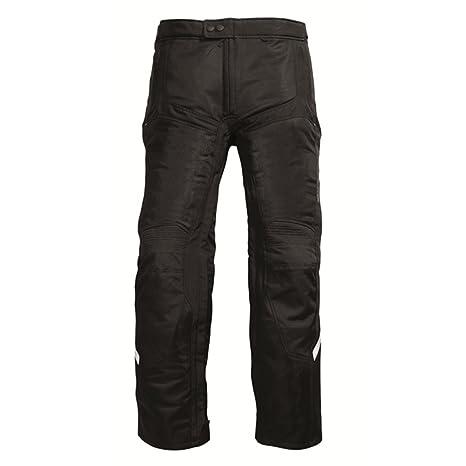 Rev'it - Pantalon moto d'été AIRWAVE - Taille : M - Couleur : Noir