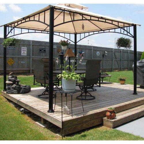 Canopy For Backyard Target :  Canopy for Target Madaga Gazebo, Rip Lock 500  Gazebos  Patio and