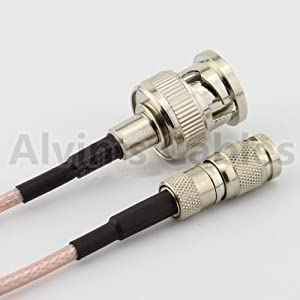 DIN 1.0/2.3 Mini BNC to BNC Male HD SDI 75ohm Cable Blackmagic HyperDeck Shuttle