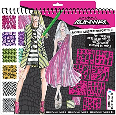 Project Runway Fashion Design Sketch Portfolio by Fashion Angels
