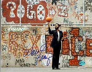 Walt Frazier autographed 8x10 photo (New York Knicks) Image #2 School Yard
