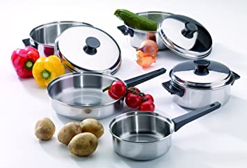 5 brunnercampingbedarf 27490 - Batterie de cuisine en acier inoxydable ...