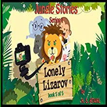 Lonely Lizarov: Book 5 Audiobook by Amarjit Singh Atwal Narrated by Moira Healey