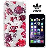 TeamS(チームエス) adidas アディダス iPhone7 ケース ブランド ハード スマホケース アイホン7 ケース bohemian ボヘミアンレッド 「当店オリジナルフィルム付き」
