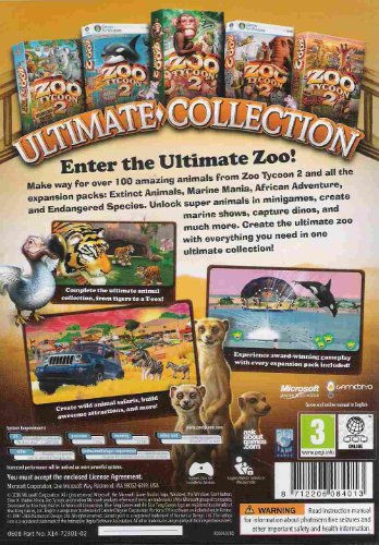 Zoo Tycoon 2 Ultimate Collection PC | Best Cheap Software