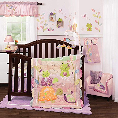 Puddles 5 Piece Baby Crib Bedding Set With Bumper By Lambs & Ivy front-1054528