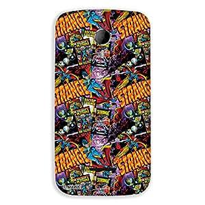 Marvel Civil War PBMARCOMMA11707 Dr. Strange Back Cover for Micromax Canvas Magnus A117 (Multicolor)