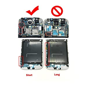 Display Touch Screen Repair Replacement with Frame for Samsung Galaxy S4 SGH- I337 (AT&T)/SGH-M919 (T-Mobile),Free Repair Tool Kits.(Blue+Frame) (Color: Blue+Frame)
