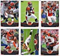 Cincinnati Bengals 2013 Topps NFL Football Complete Regular Issue 18 Card Team Set Including Andy Dalton, Giovani Bernard Rookie, A J Green Plus