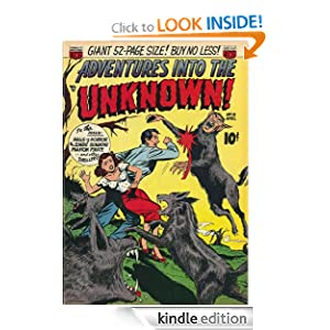 Adventures into the Unknown: The Halls of Horror and other stories