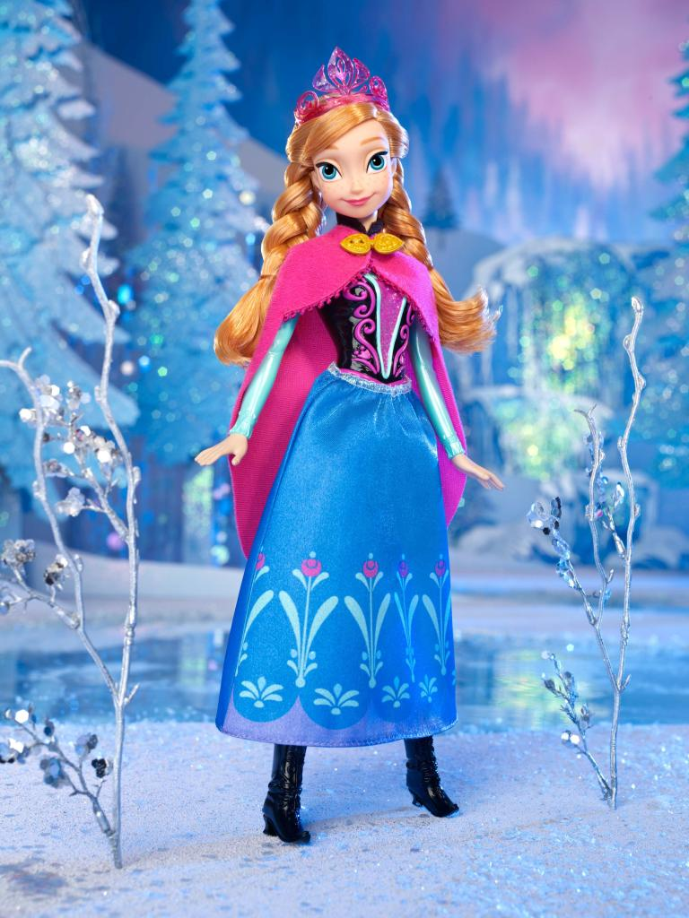 Amazon.com: Disney Frozen Sparkle Anna of Arendelle Doll: Toys & Games