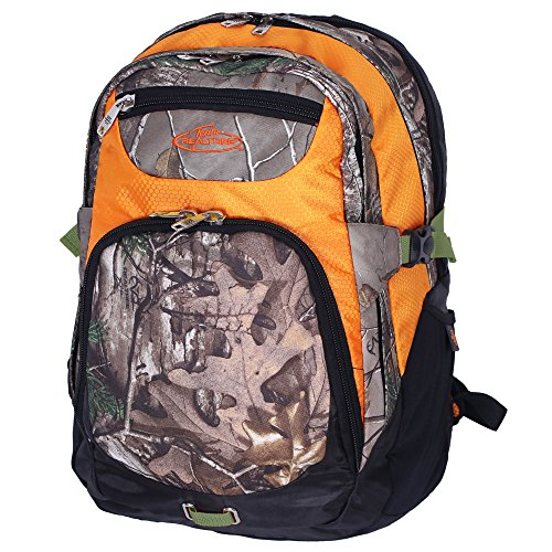 REALTREE 4 Compartment Backpack, 20-Inch, Realtree Xtra/Orange (Vacuum Pack Elite compare prices)