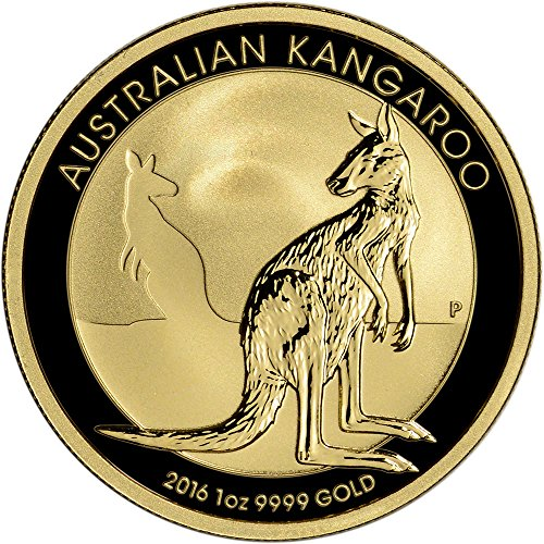 2016 AU Australia Gold Kangaroo (1 oz) $100 Brilliant Uncirculated Perth Mint