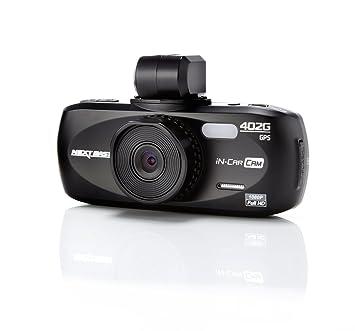 """NextBase 402G Pro Dashcam Assistant d'aide à la conduite 2,7 """" LCD Noir"""