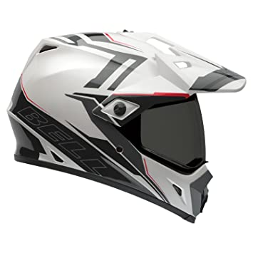 Bell Casques 7061370 MX 2015 MX-9 Adventure Adult Casque, Barricade Blanc, XS