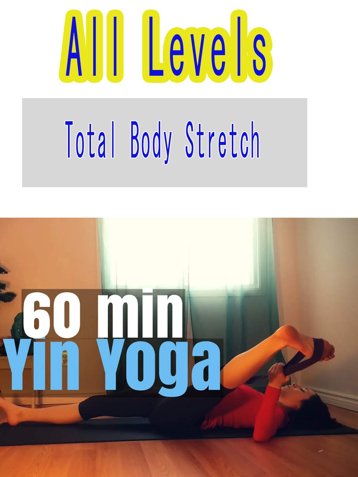 60 minute Yin Yoga Full Class - All Levels Total Body Stretch