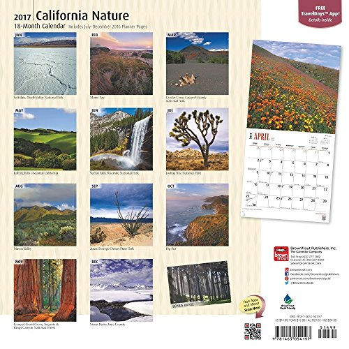 California Nature 2017 Wall Calendar
