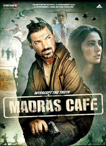 Madras Cafe Hindi Blu Ray (2013/Bollywood/Indian/Cinema/Film)