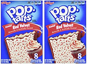 Kellogg's Frosted Red Velvet Pop Tarts, Pack of 2