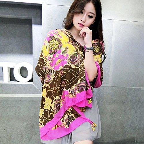 Autunno Inverno Womens Fashion eleganza Super Morbida sciarpa scialle Europa Street Style(cotone/lana/filo/seta)W-221