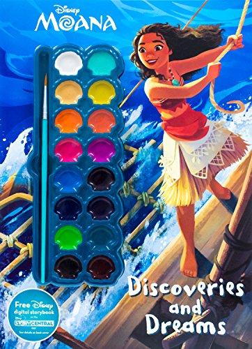 Disney Moana Discoveries and Dreams