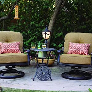 Amazon.com: Darlee Elisabeth 2-person Cast Aluminum Patio