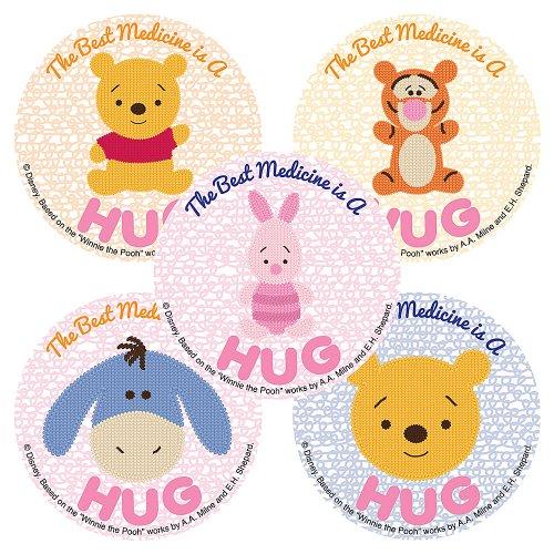 Disney Winnie The Pooh Best Medicine Sticker - 75 per Pack - 1