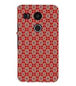 iFasho Animated Pattern design many small flowers Back Case Cover for Huawei Google Nexus 6P