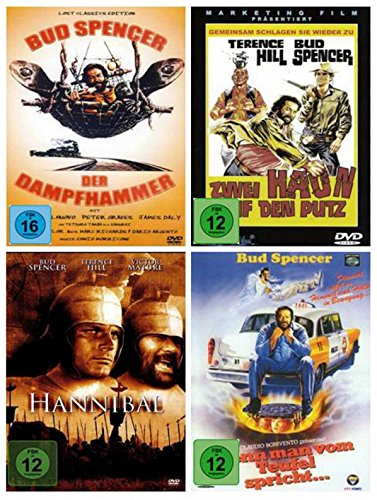 Bud Spencer Special Film Paket ( zum Todestag von Bud Spencer ) [4 DVDs]