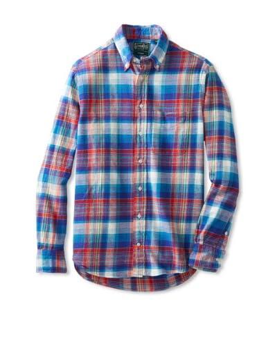 Gitman Vintage Men's Plaid Flannel Long Sleeve Shirt