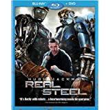 Real Steel [Blu-ray + DVD]by Hugh Jackman