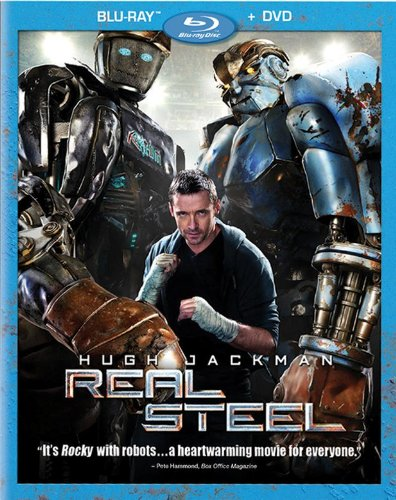 Cover art for  Real Steel (Two-Disc Blu-ray/DVD Combo)