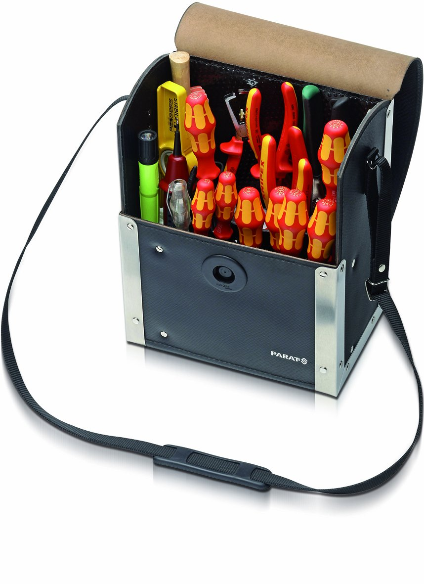 Parat 30.200581 Top Line Werkzeugtasche mit Magnetverschluss, schwarz  BaumarktBewertungen
