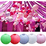 "Generic White, 12 : New Arrival! Wedding Party Engagement Decoration Round Chinese Paper Lantern 8"" 10"" 12"""