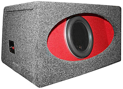"Ho112R-W7 - Jl Audio 12"" W7 Subwoofer Loaded In A W7 H.O. Wedge Enclosure"