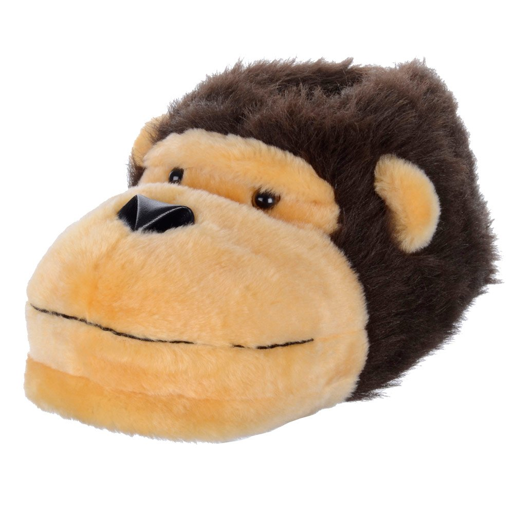 Over 150 Cheap Gifts For Him - The 2015 Gift Guide Mens Slippers Soft Warm Fluffy Fun Novelty Monkey Face Adults Slippers All Sizes: Amazon.co.uk: Shoes & Bags