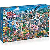Gibsons puzzle - I Love Great Britain 1000 pieces